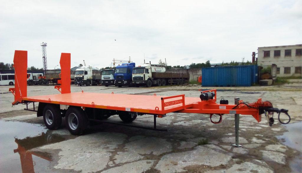 Прицепы для перевозки спецтехники до 3 500 кг работа в чите спецтехника